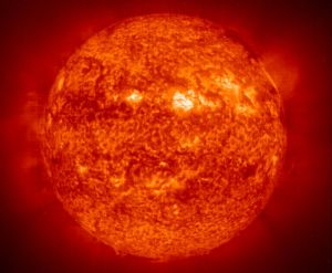 Солнце состоит из He